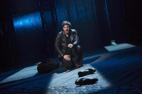 "Michael Esper in ""The Last Ship,"" a production bound for Broadway this season."